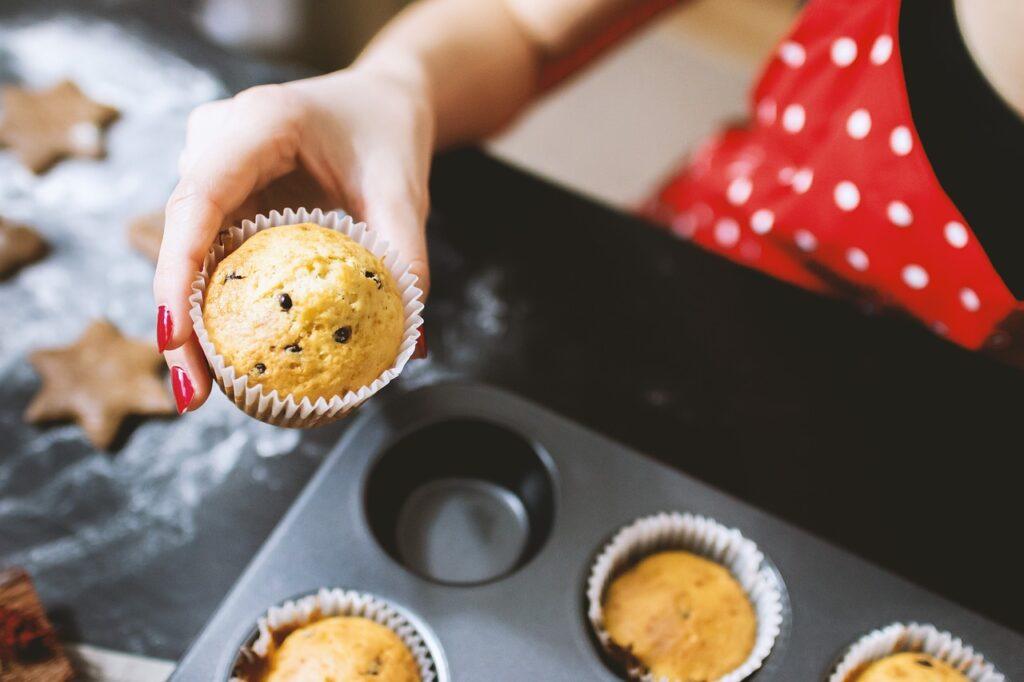 muffiny doma upečené