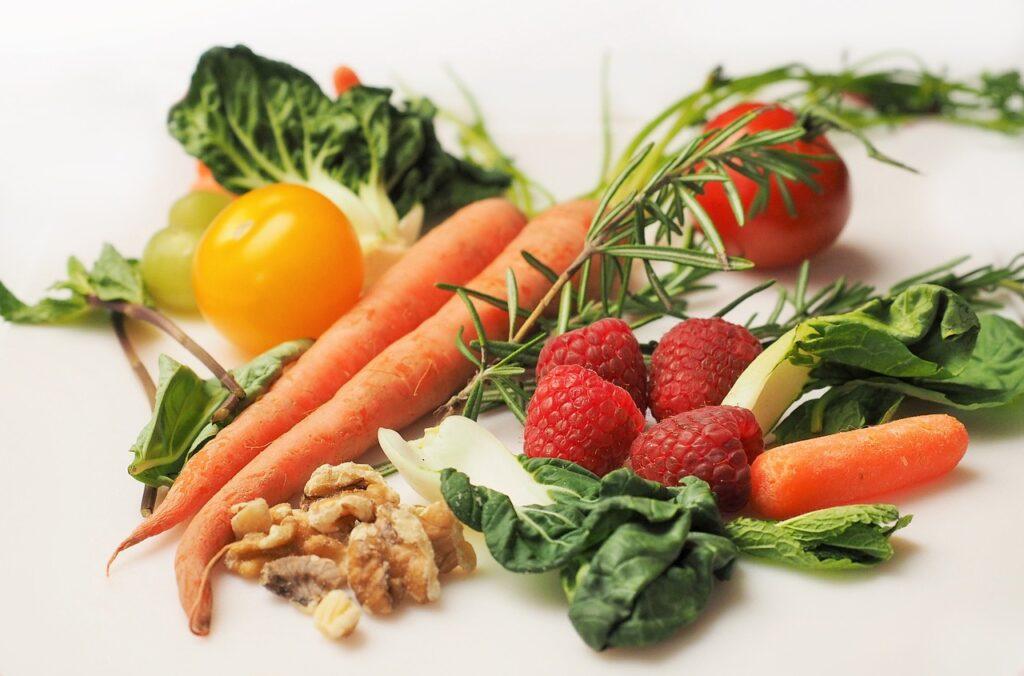ovocie a zelenina na desiatu